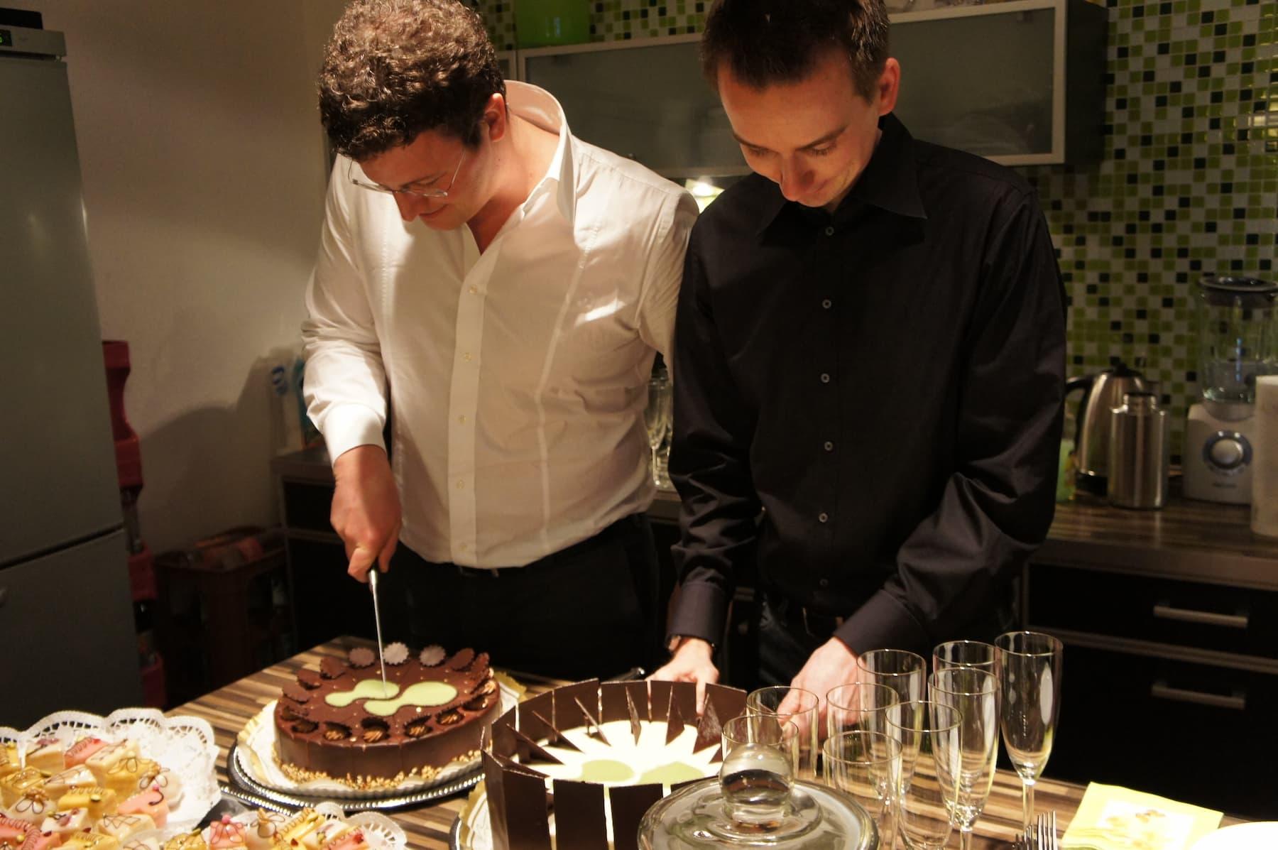 10 Jahre netzkern - Kuchen!
