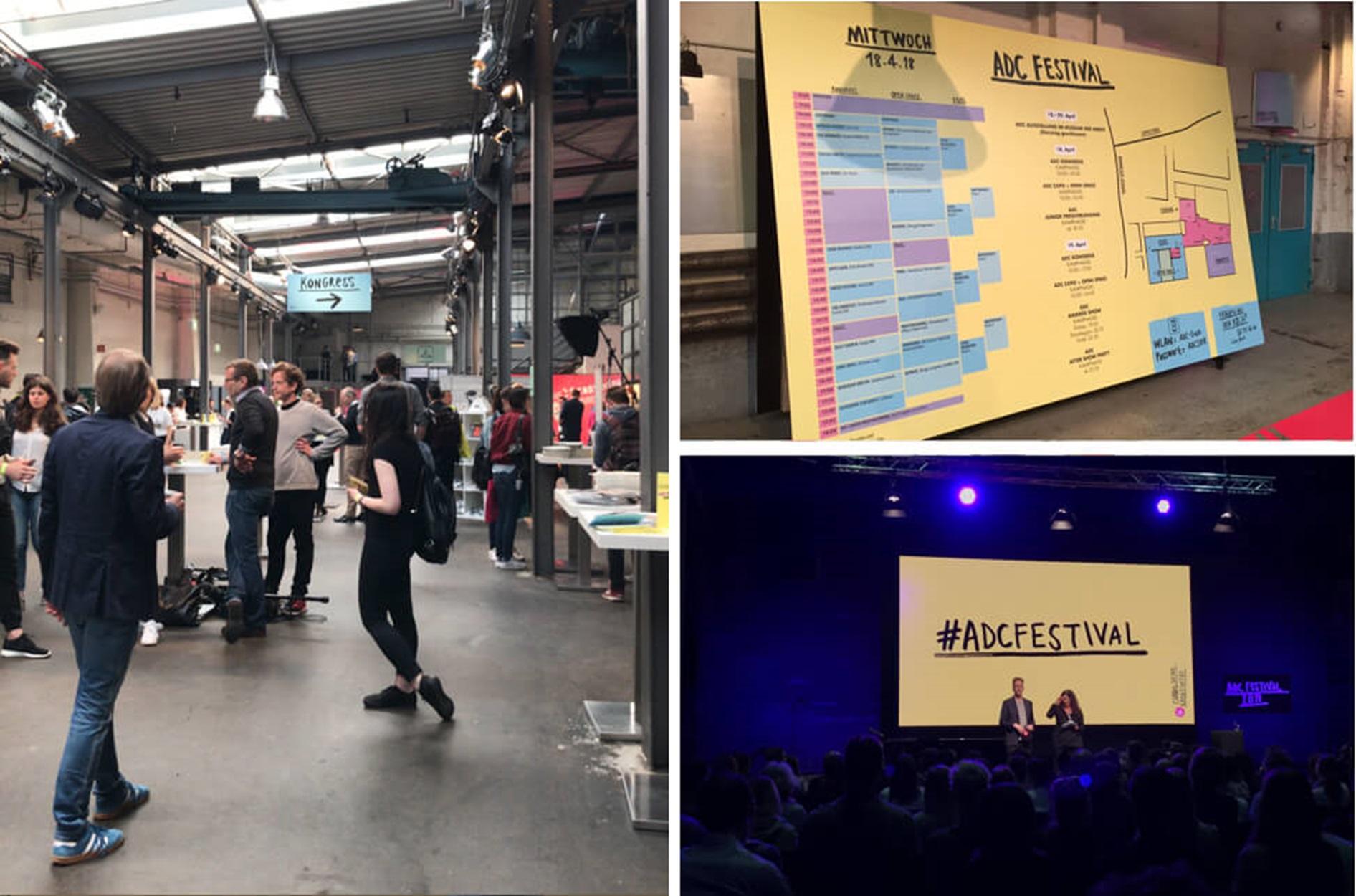 ADC-Kongress 2018: Impressionen - Drinnen