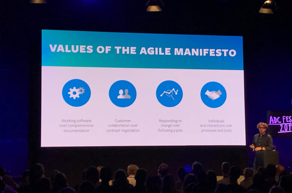 Werte des Agile Manifesto (Andre Keller)