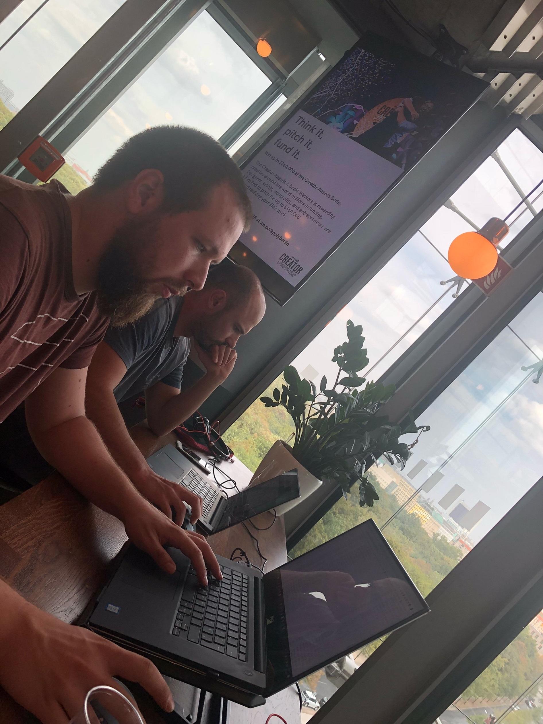 Konzentration im Coworking Space