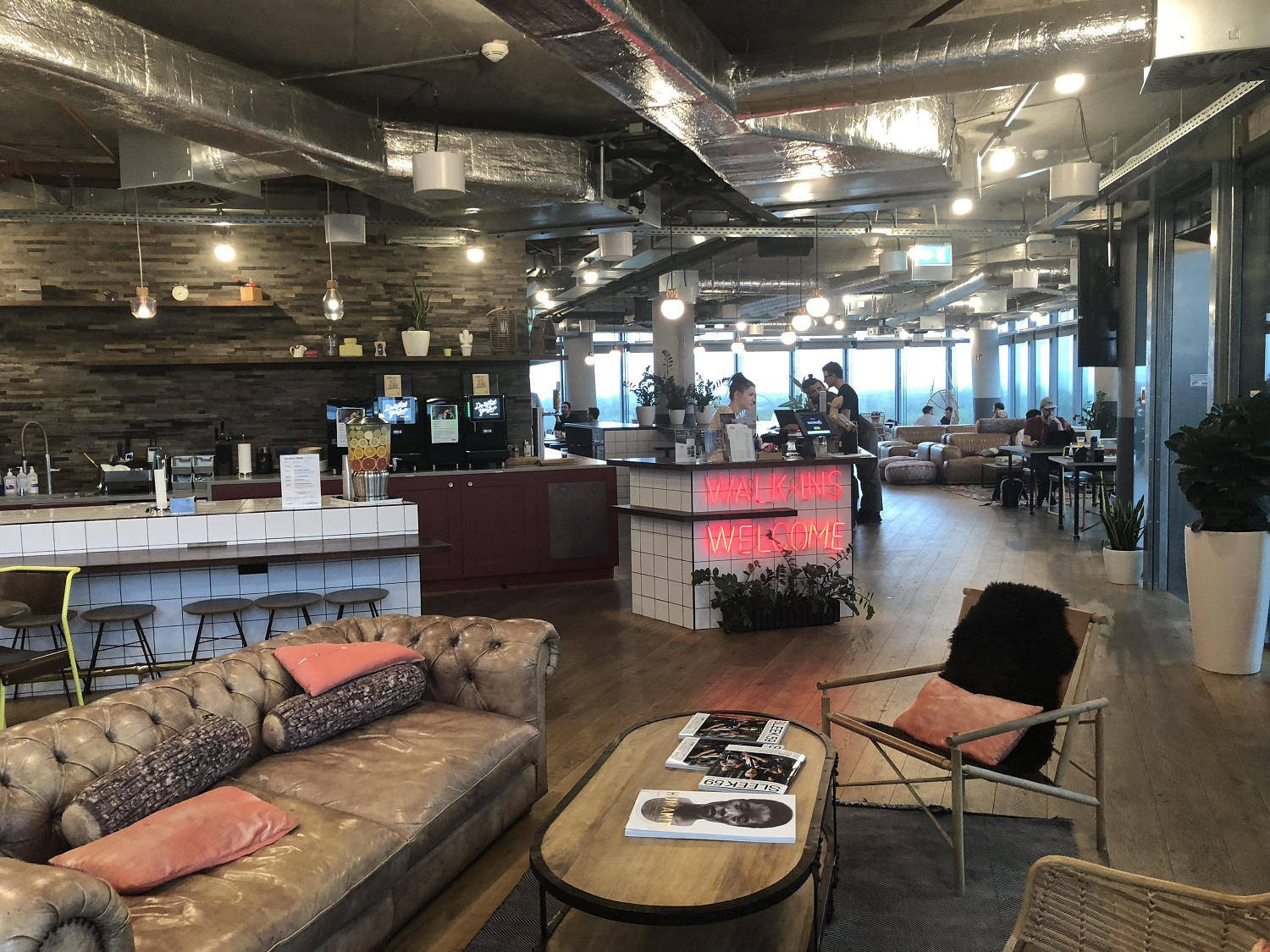 Walk-Ins Welcome im Coworking Space