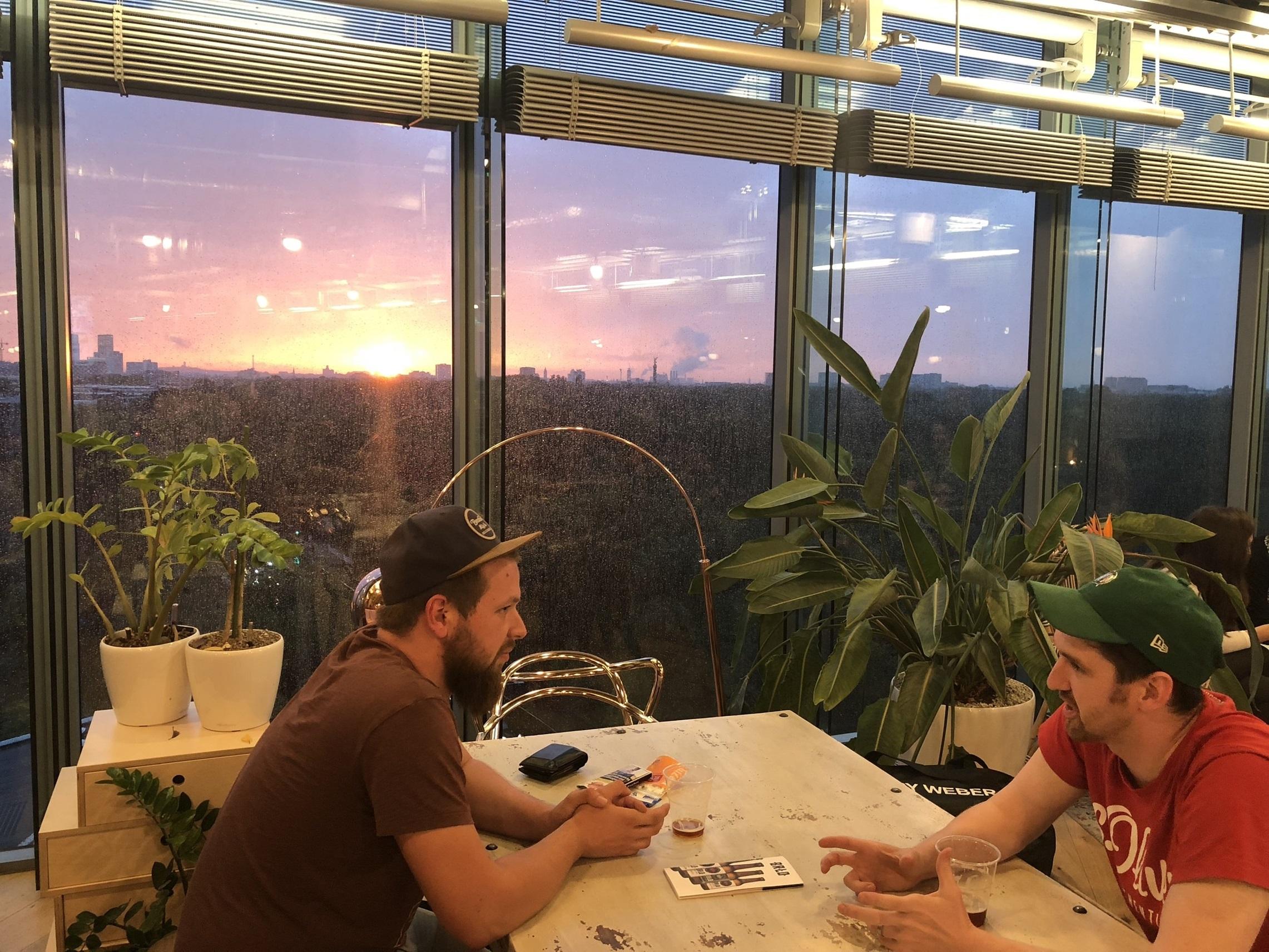Coworking Space in Berlin: Sony Center