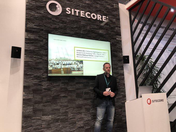DMexco 2019 - netzkern Vortrag bei Sitecore