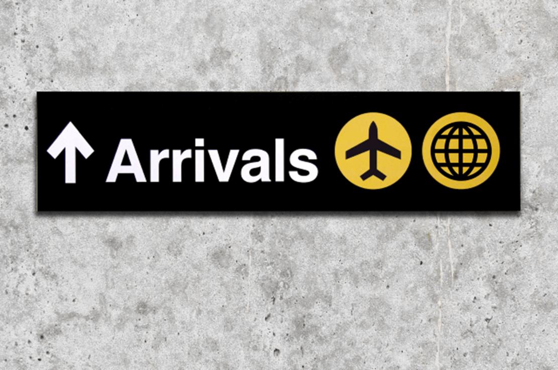 Arrivals - Landing (Page)