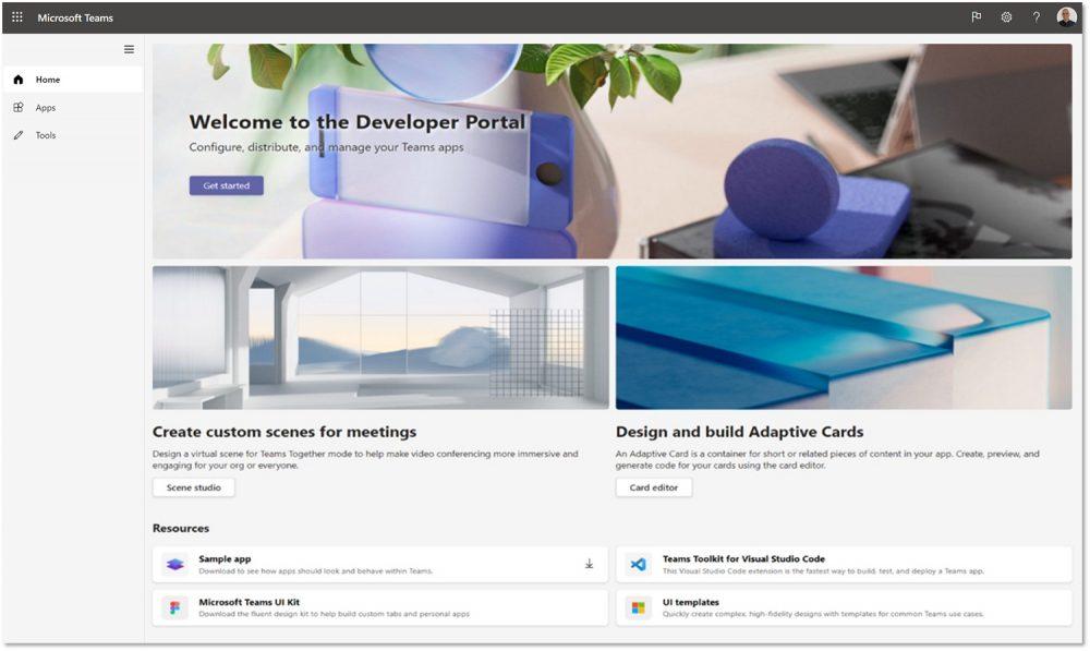 Microsoft Teams Developer Portal