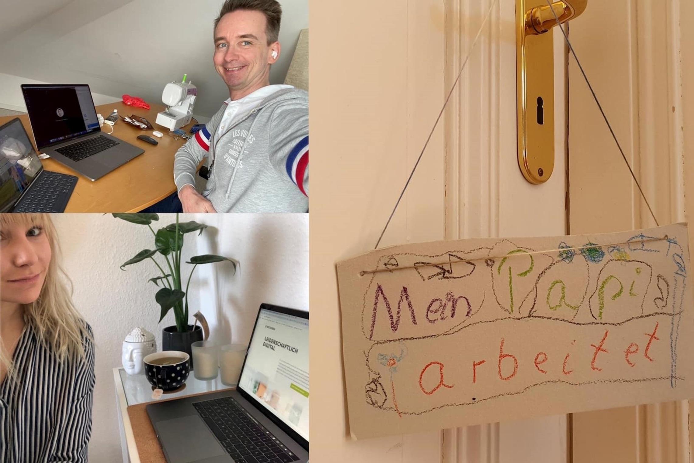 Teams von netzkern im Home Office