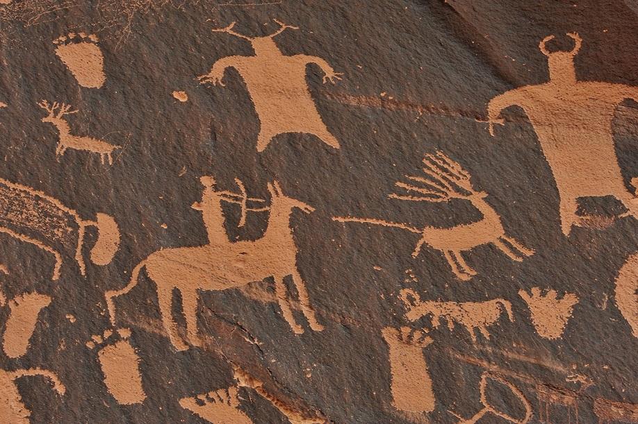 Steinzeit Höhlenmalerei