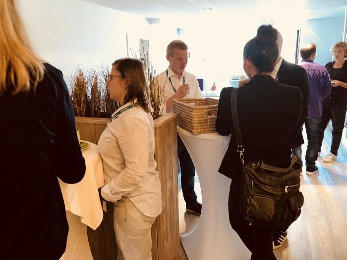 OMCOWU 2018: Networking beim Essen