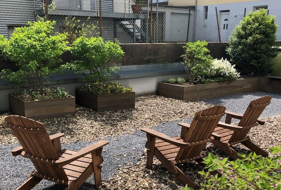 Die Terrasse bei netzkern