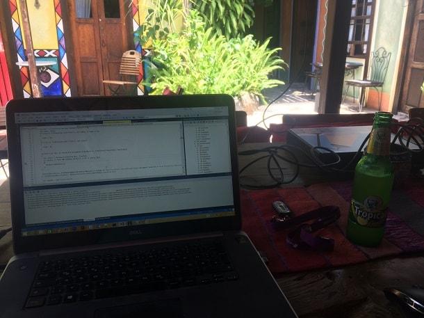 Remote Arbeiten für den Arbeitgeber netzkern AG