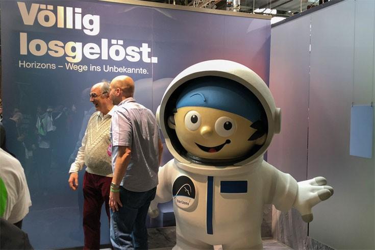 Re:Publica 2018 - Astronaut völlig losgelöst