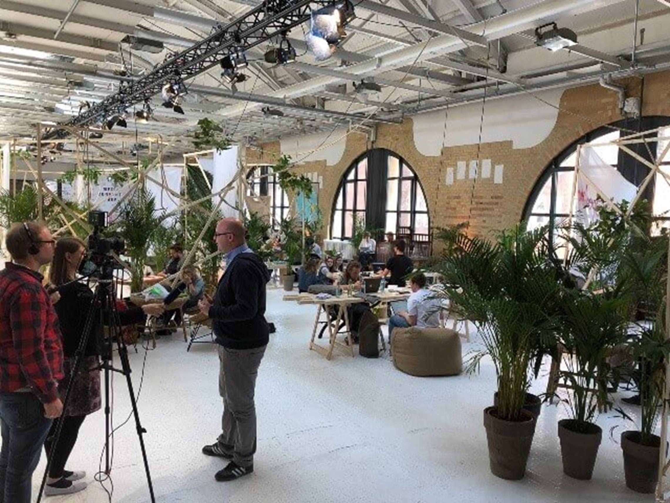 Re:Publica 2018 - Grün und offen