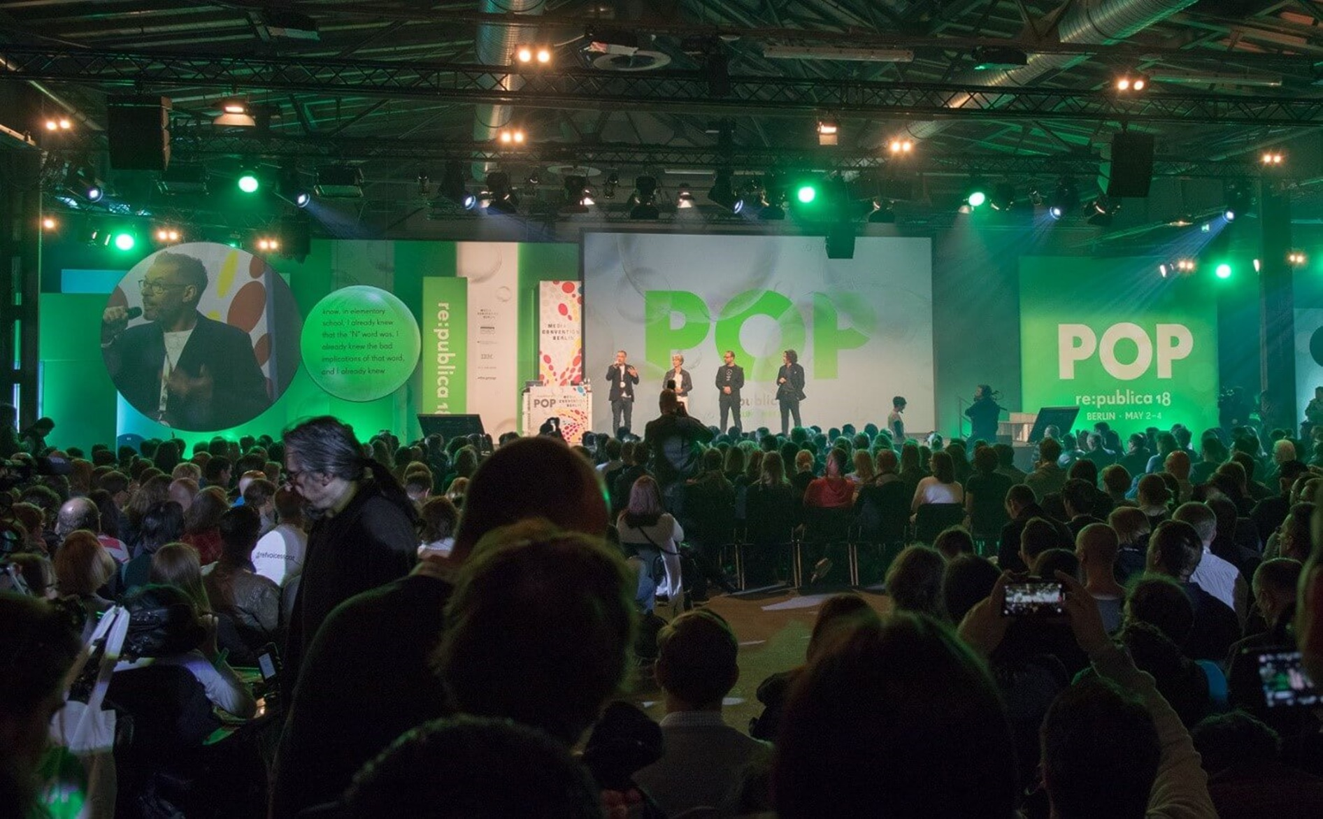Re:Publica 2018 - Bühne