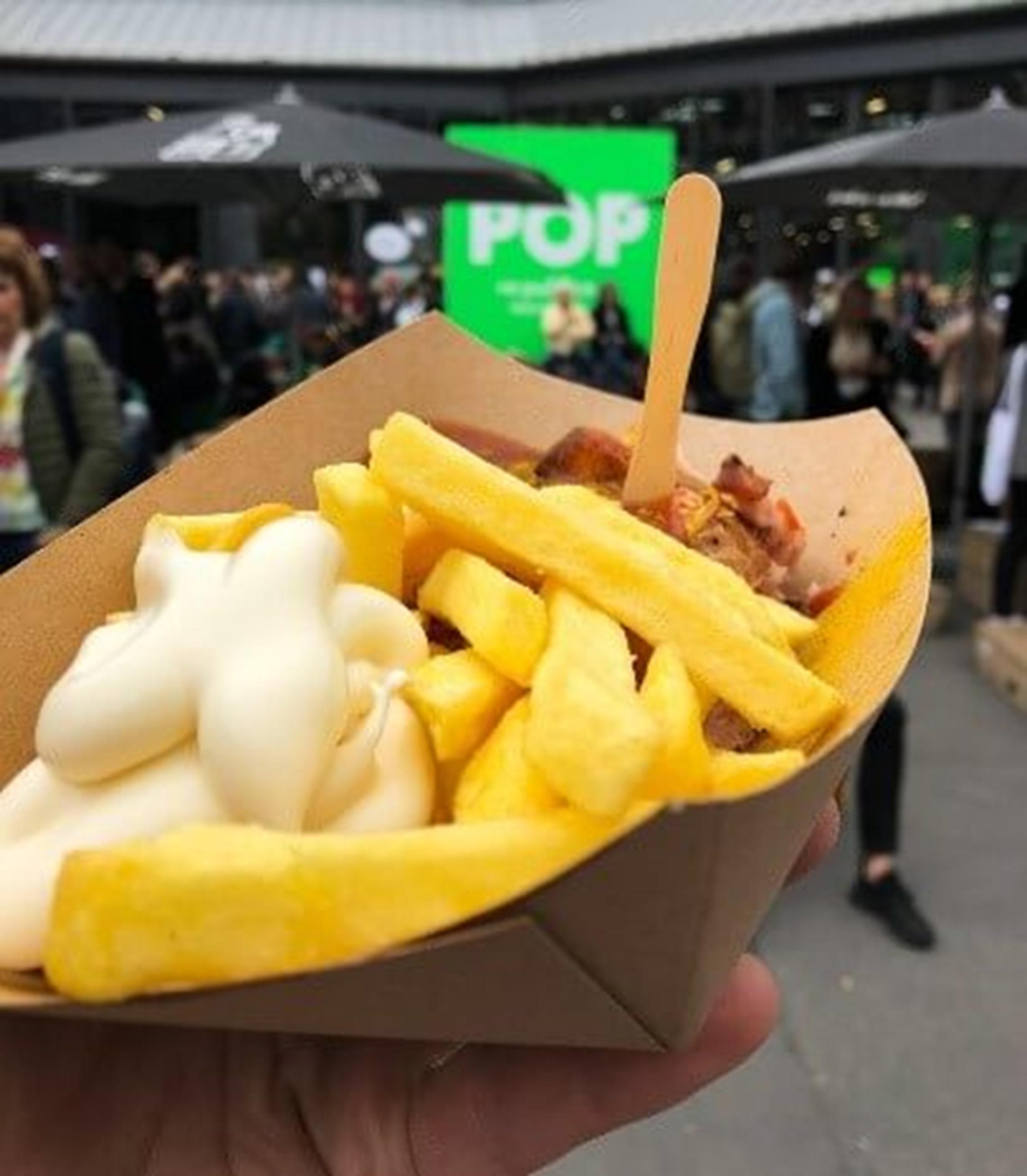 Re:Publica 2018 - Typisches Mittagessen