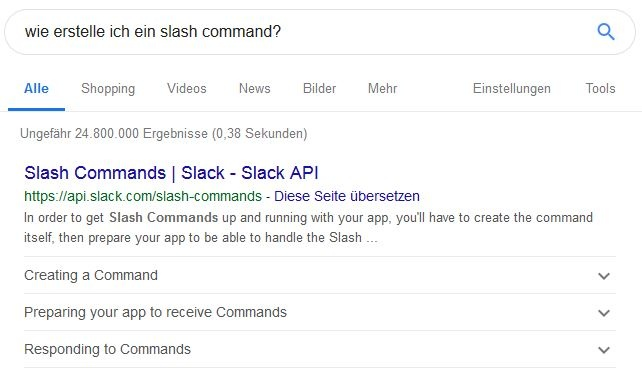 How To Slash Command - Structured Data in Google SERPs