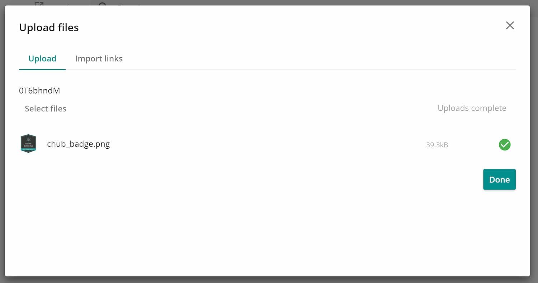 Upload im DAM - Sitecore Content Hub