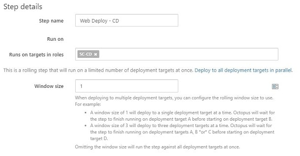 Zero Downtime Deployment with Octopus