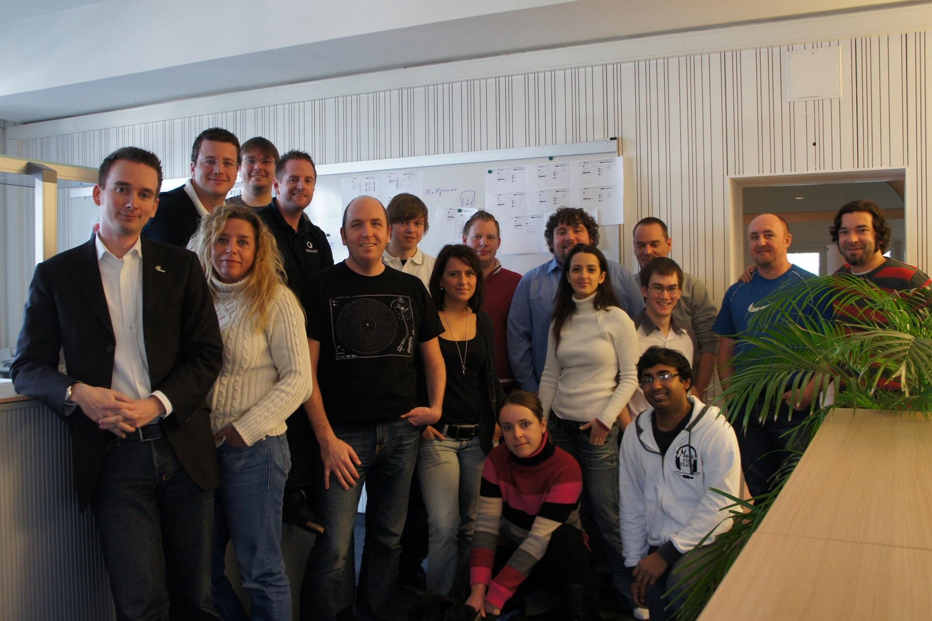 Das netzkern-Team 2010