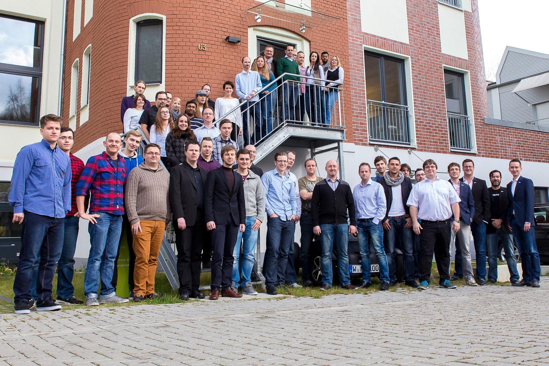 Das netzkern-Team 2014