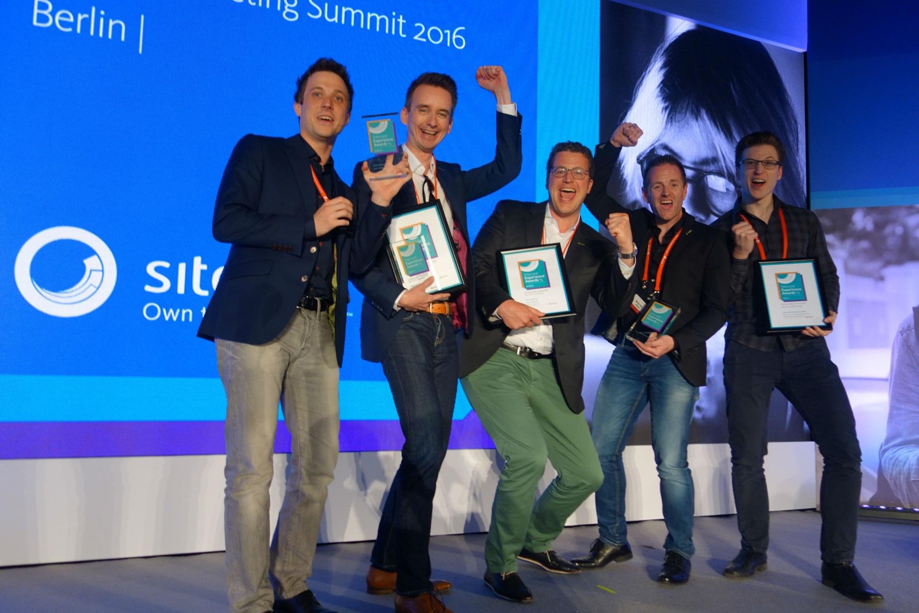 netzkern gewinnt den Sitecore Experience Award für zwei herausragende Kundenprojekte