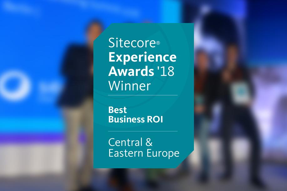 Sitecore Experience Award 2018