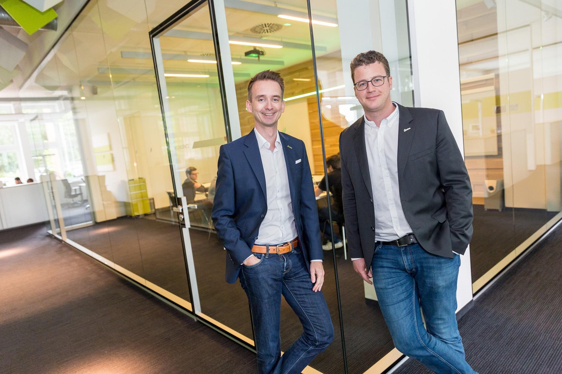 Thomas Golatta und Daniel Schulten, Gründer netzkern AG