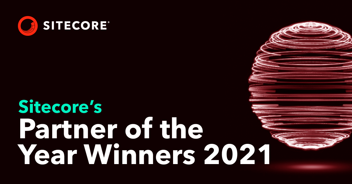 Sitecore Partner of the Year Winners 2021