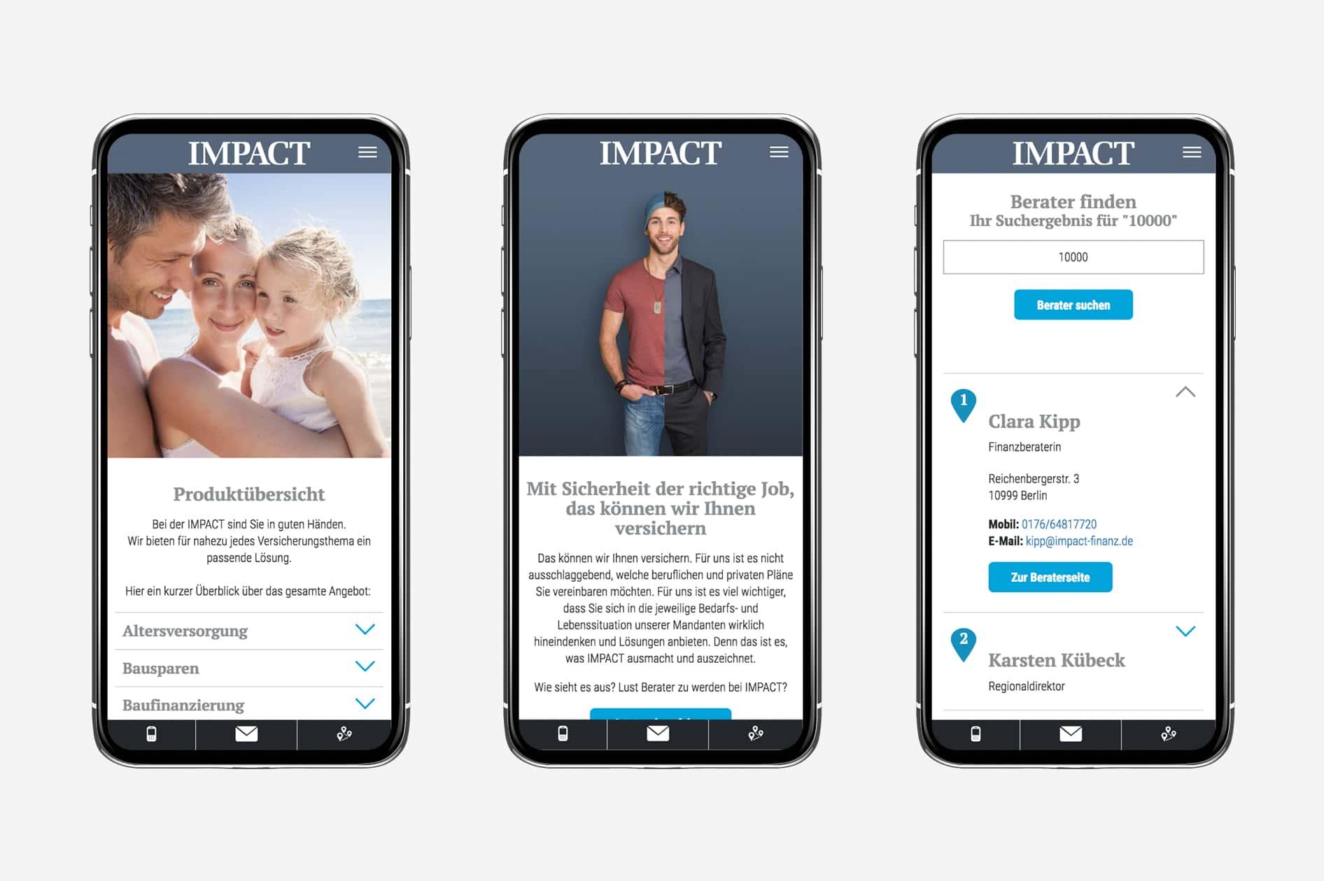Barmenia Impact - Smartphone