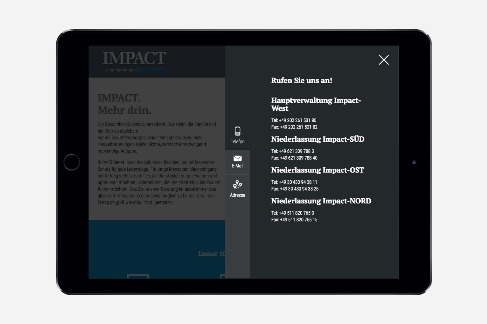 Barmenia Impact - Tablet