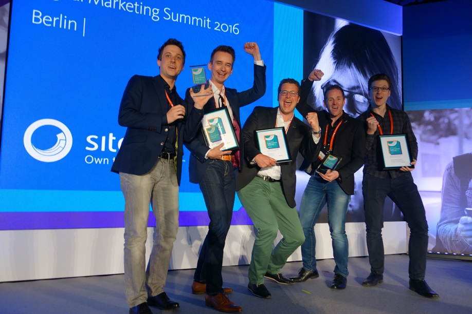 Sitecore Experience Award für netzkern und EWE