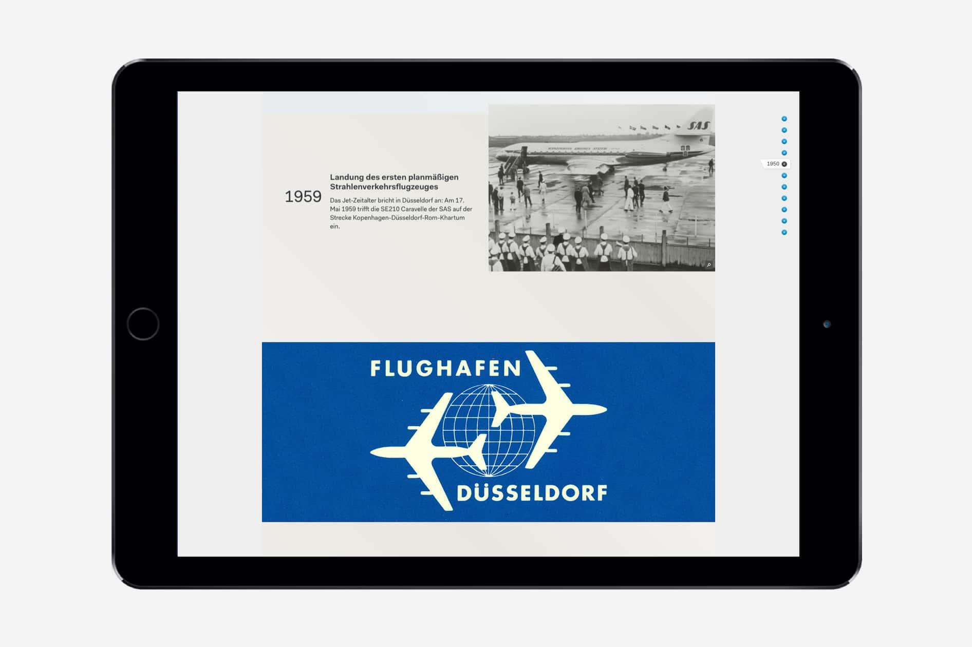 Flughafen Düsseldorf (Tablet)