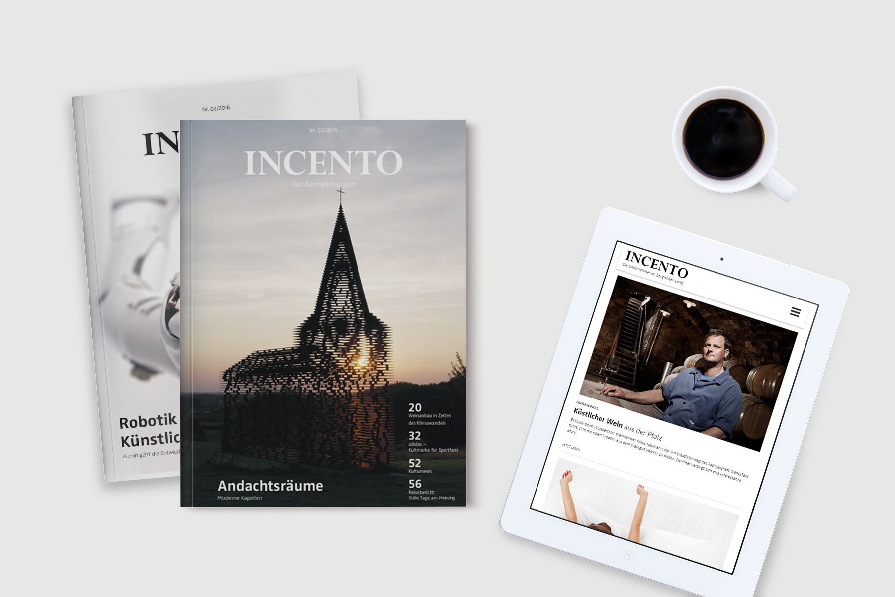 INCENTO Bergisch Magazin und Website