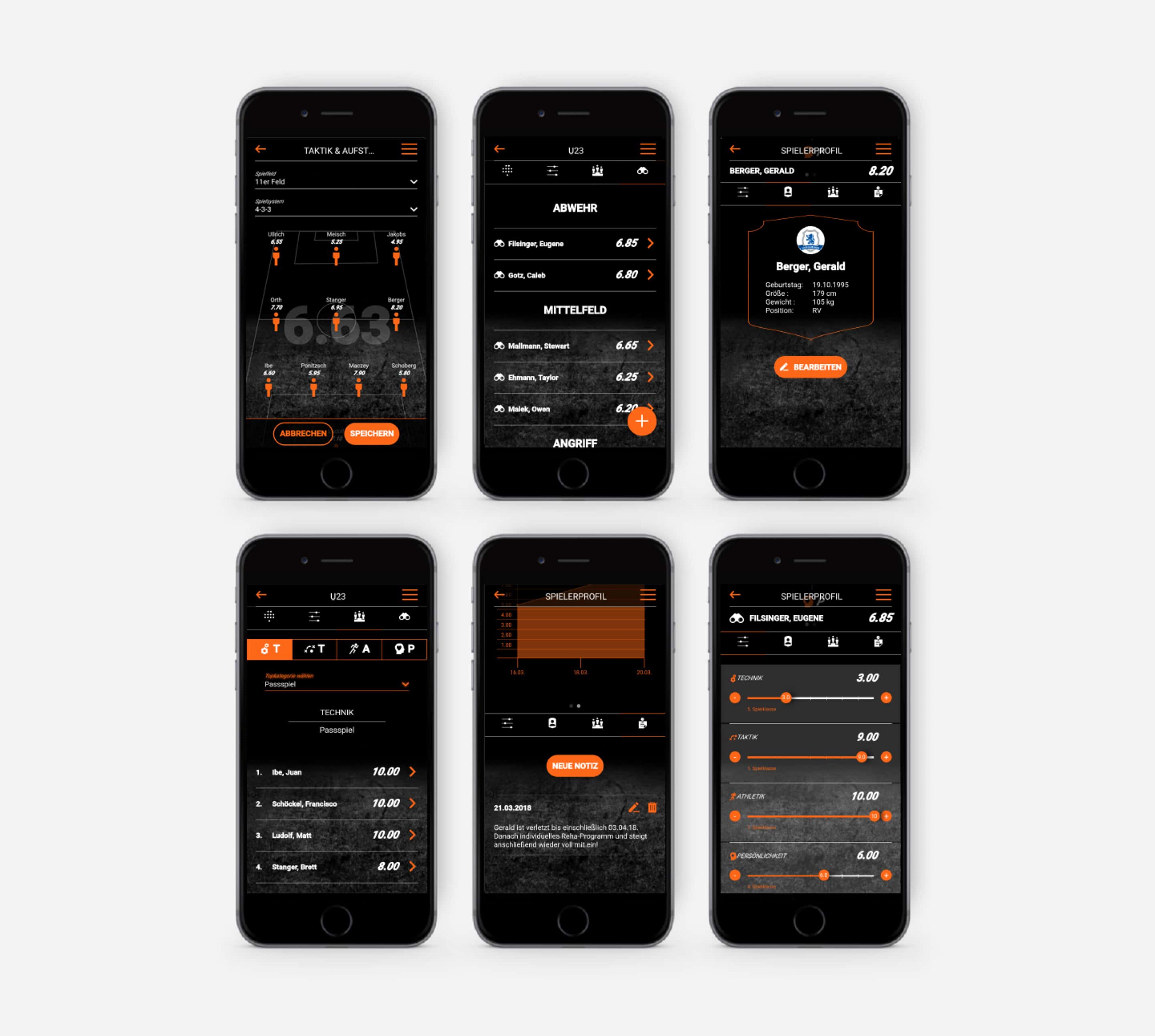 Quipe App auf Smartphone