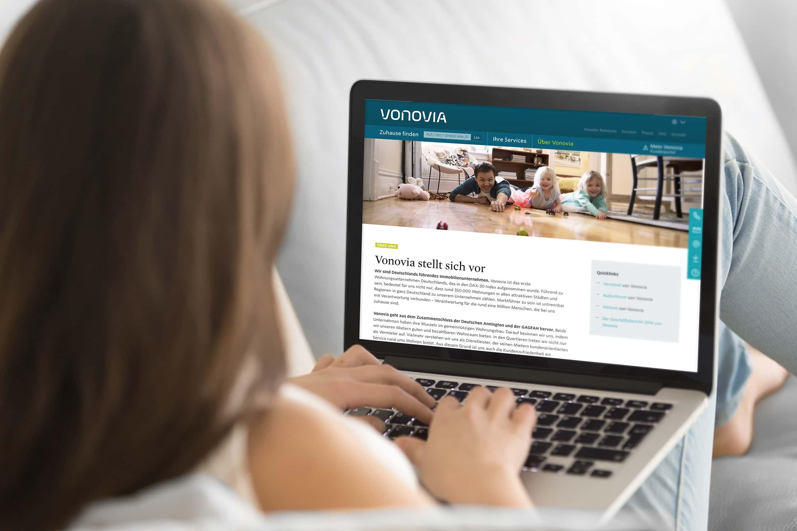 Vonovia Website (Notebook)
