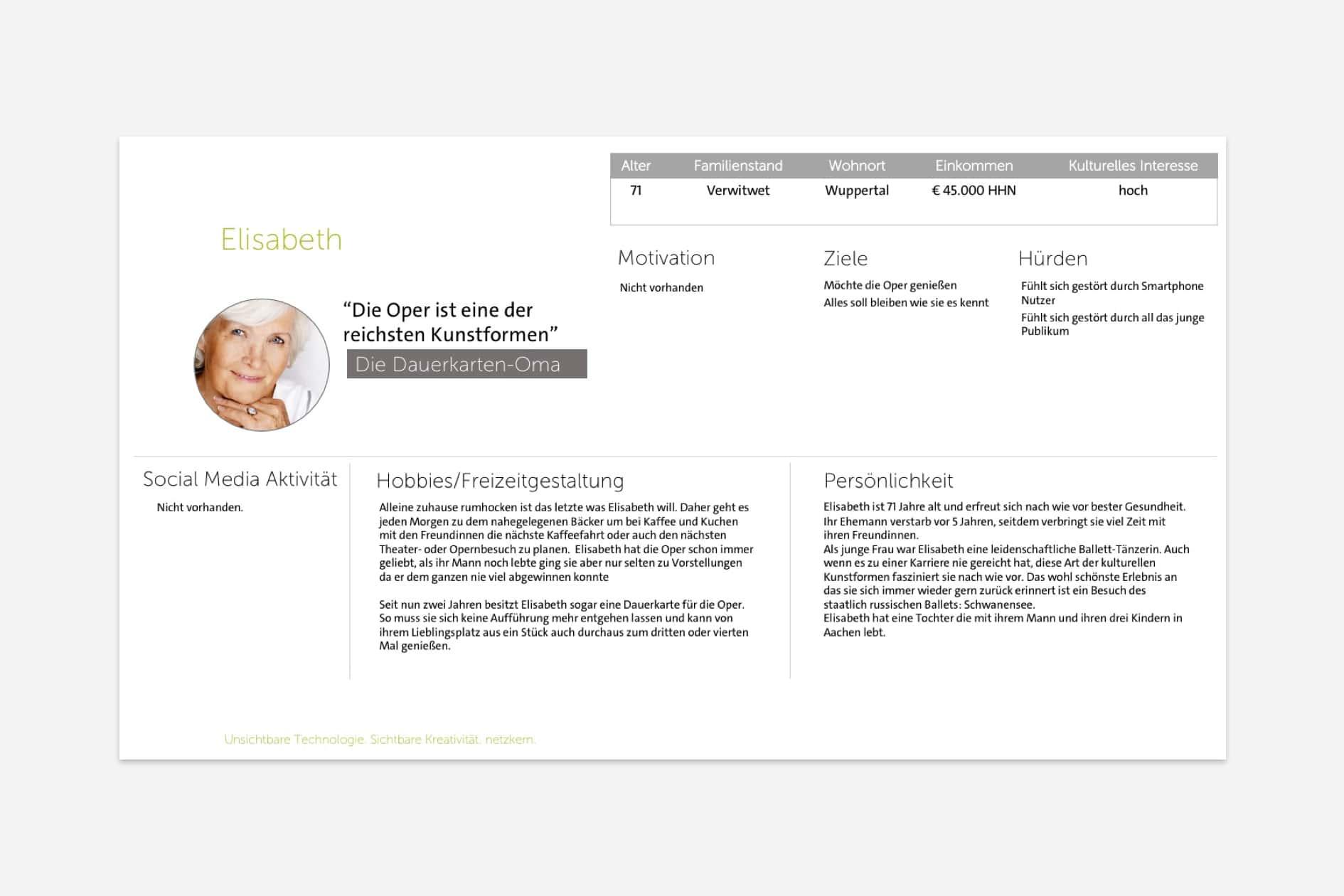 Oper Wuppertal - Persona Elisabeth