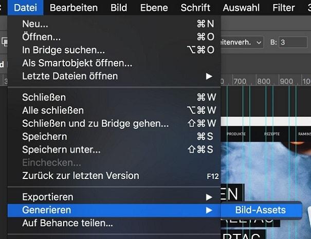 Adobe Animations Photoshop Generate