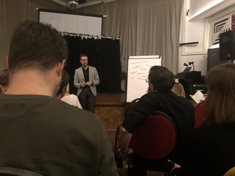 Agile Ruhr Day 2018 - Agiles Arbeiten und Organisation