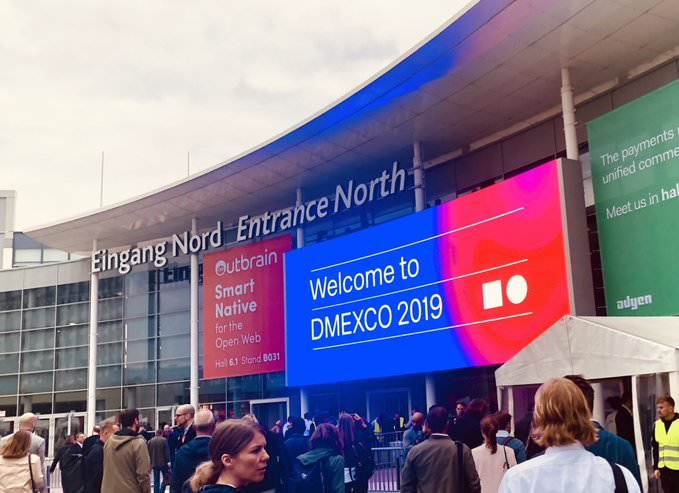 DMExco 2019 - Eingang