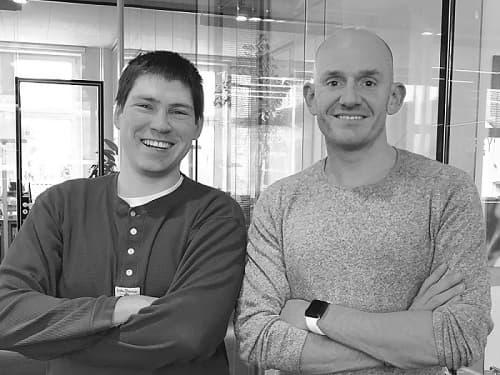 Nico Zorn und Christian Schmidt, netzkern AG