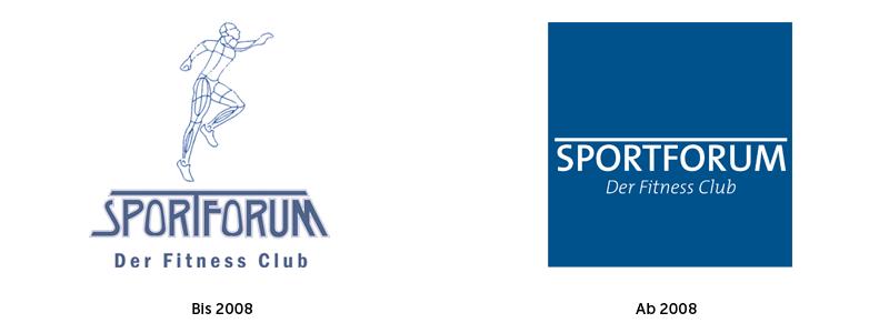 Sportforum Logo alt und neu