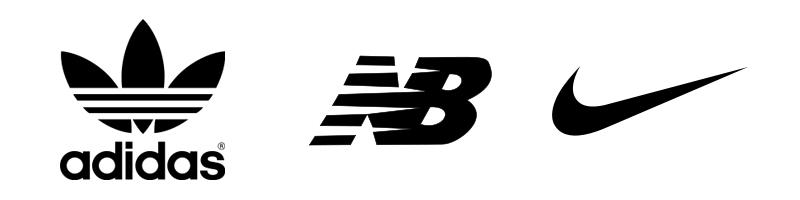 Bekannte Logos Beispiele