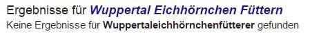 Google Ergebnis für Wuppertaleichhörnchenfütterer