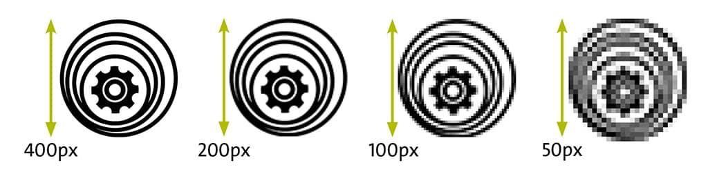 skaliertes Logo