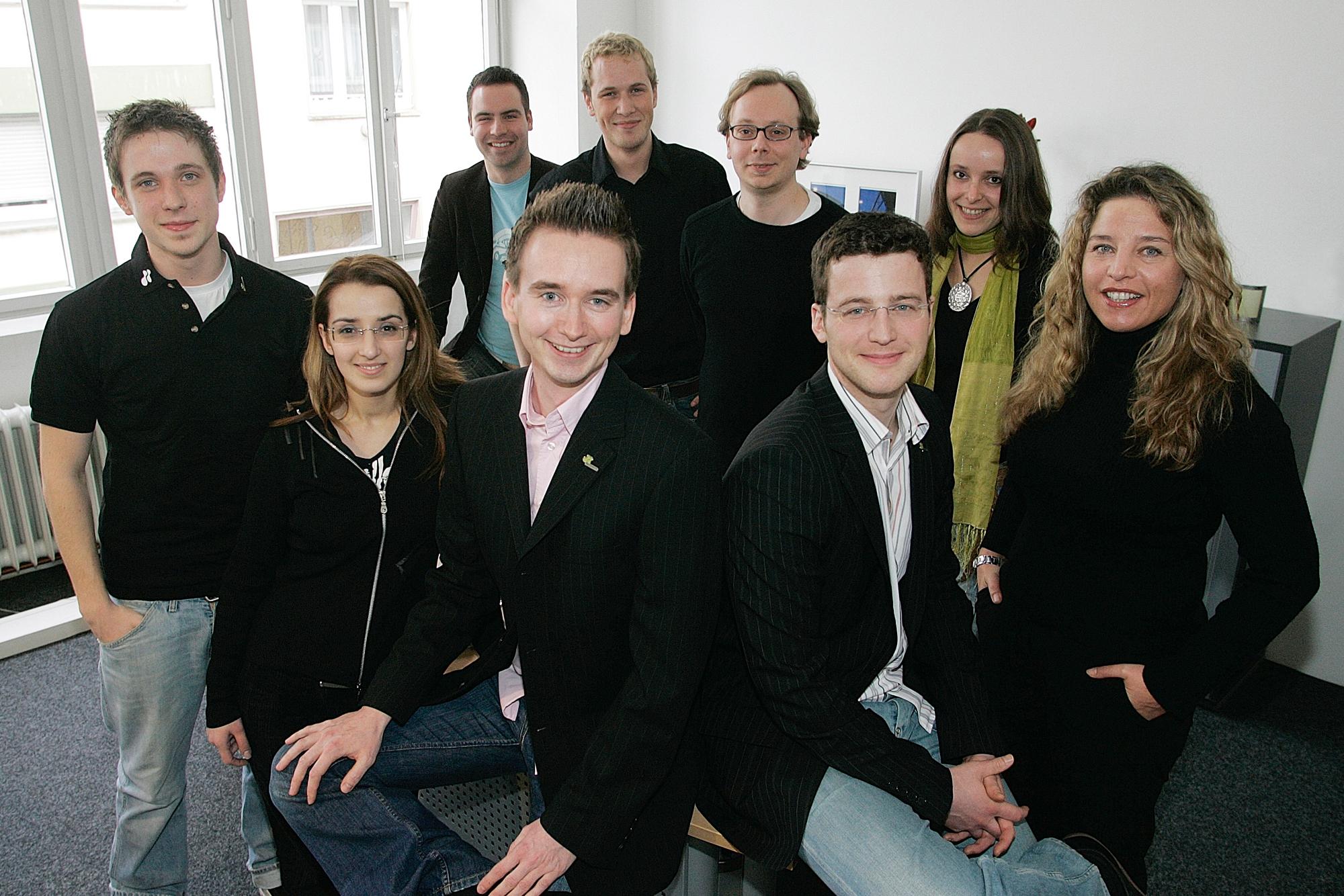 Das netzkern-Team 2006