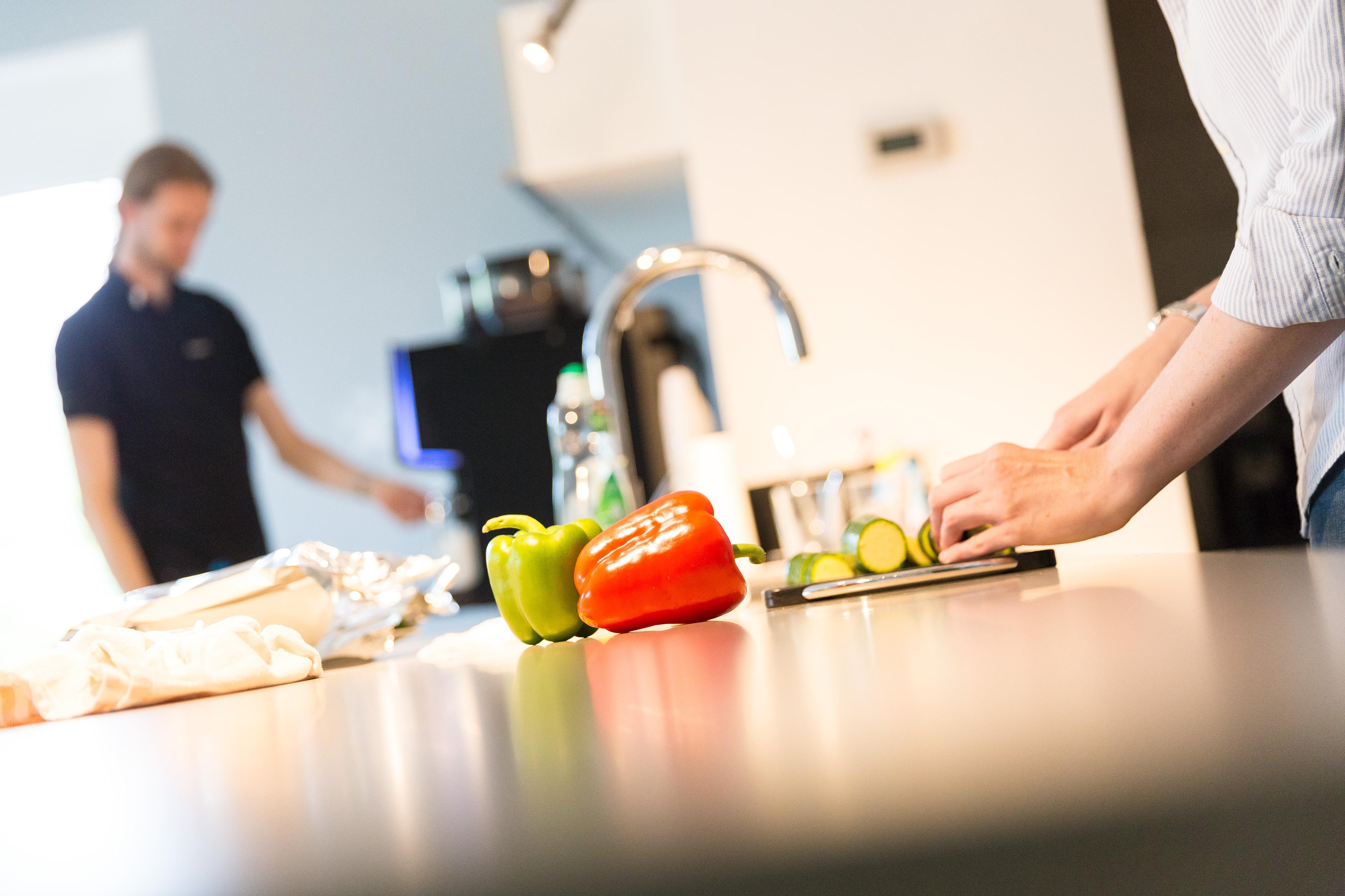 Kochen in einer der netzkern Küchen
