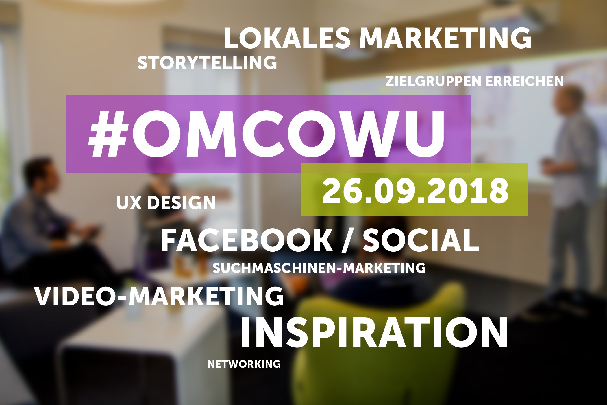 Online Marketing Conference Wuppertal 2018 - Header